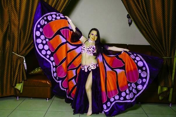Крылья  для танца живота. F67c58b7fbb7f32fdb913a5952903d62056455257025873