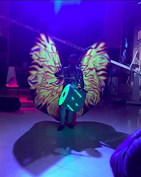 Крылья  для танца живота. Efa68393ab99f8a03b1d238215be4194056453291733758