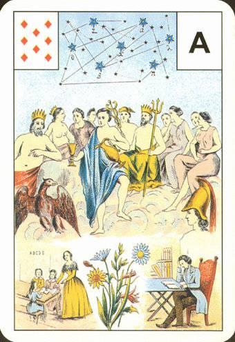 Астро-Мифологическая колода Ленорман - Страница 2 4cf15b55ffa3fb3a7f7db8da5abe5d4a6da53a91049434