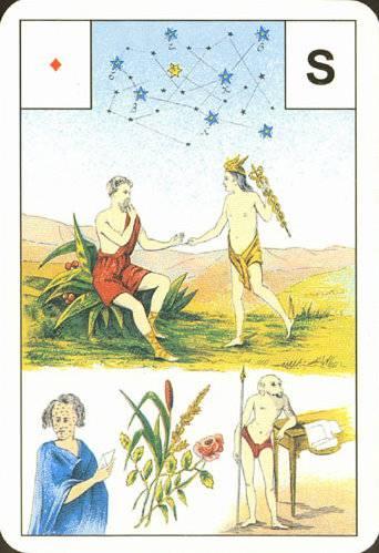 Астро-Мифологическая колода Ленорман B540cab301452912129f7afe7d4a60386da53a91036935