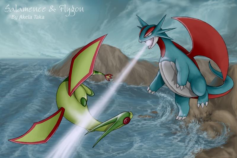Salamence vs Flygon 163957