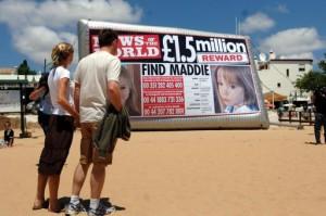 Madeleine finder's sudden death and cremation in Skipton Billboard