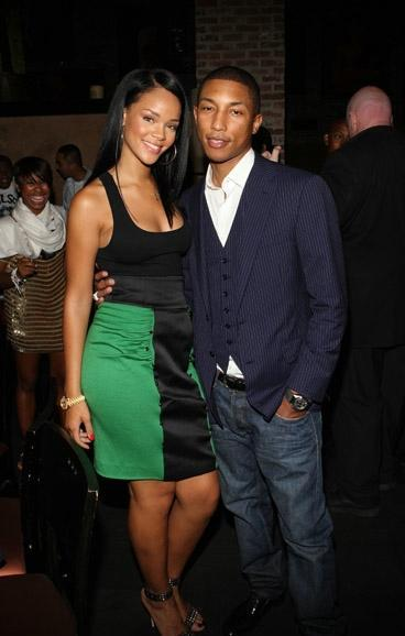 Fotos anteriores de Rihanna [2] > Apariciones, Photoshots... Pharrell-and-rihanna