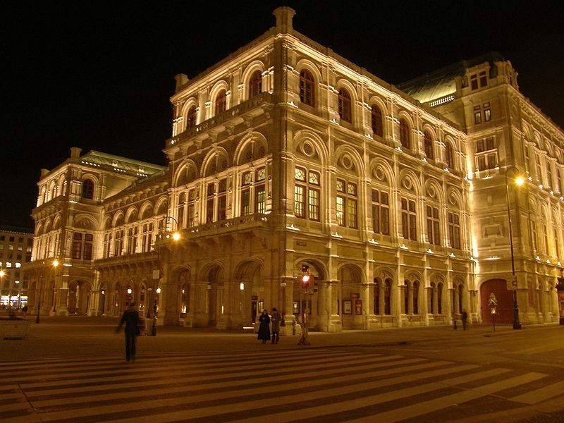 Austrija The-Vienna-Opera-House