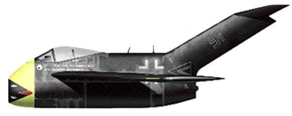 Toute sorte d'avions à réaction allemand :) Prototype aussi Fwta183-1