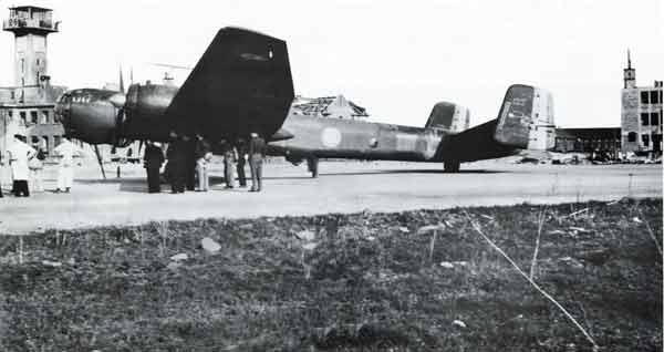 Bricy banc d'essais pour le Heinkel He-274 Heinkel20