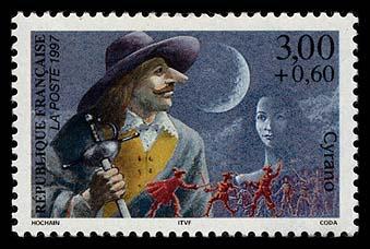 Astrophilatélie soviétique et pays de l'Est France_1997_heroes_4