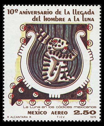 AstroPhilathélie - Page 5 Mexico_1979_apollo