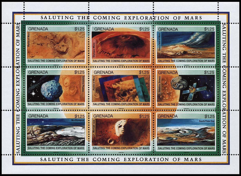 AstroPhilathélie - Page 6 Grenada_1991_mars_mi_2287_2295
