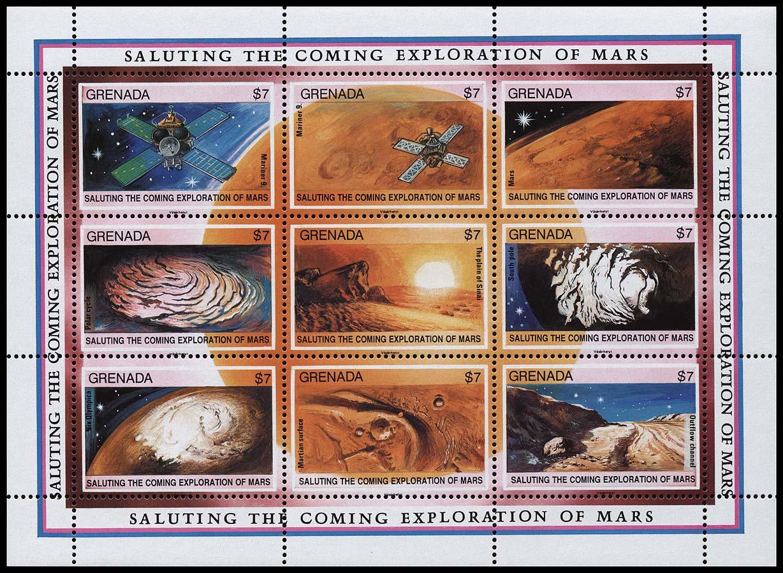 AstroPhilathélie - Page 6 Grenada_1991_mars_mi_2305_2313