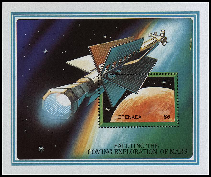 AstroPhilathélie - Page 6 Grenada_1991_mars_mi_block_287