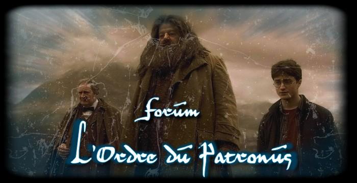L'Ordre du Patronus : Spero Patronum Logo-forum3
