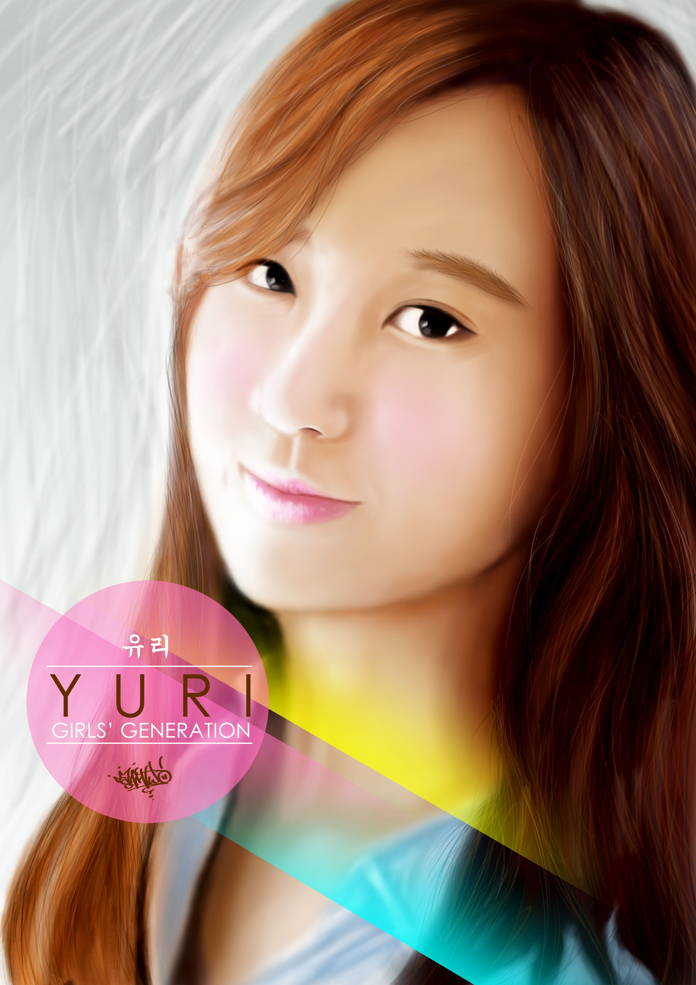 رسومات snsd Yuri1