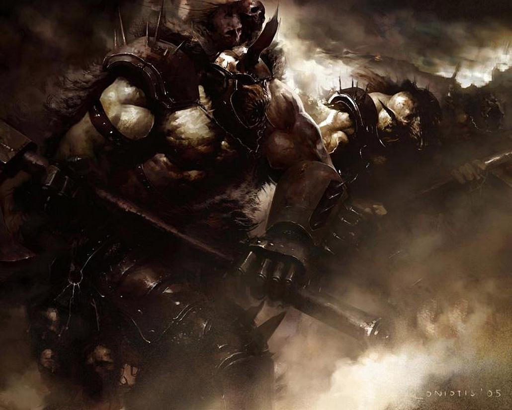 [Warhammer Fantasy Battle] Images diverses - Page 3 Battle_Orcs-by_Cos_Koniotis