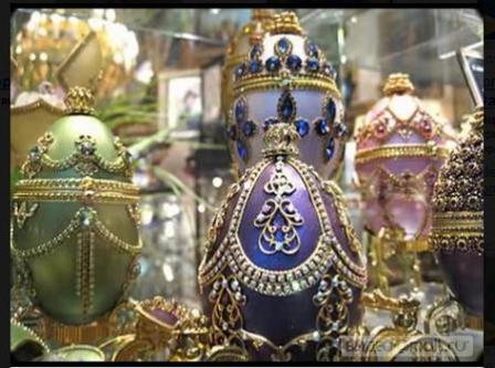 Шедевры создания пасхальных яиц Faberge