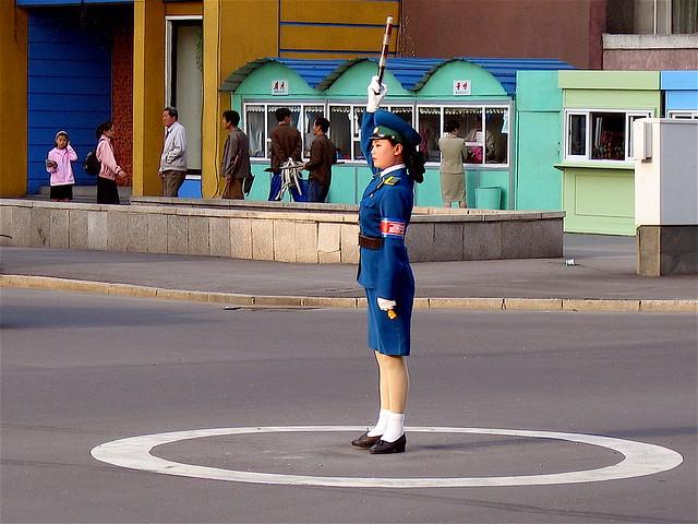 The iconic Traffic Girl 162692311_bd47ef3356_z