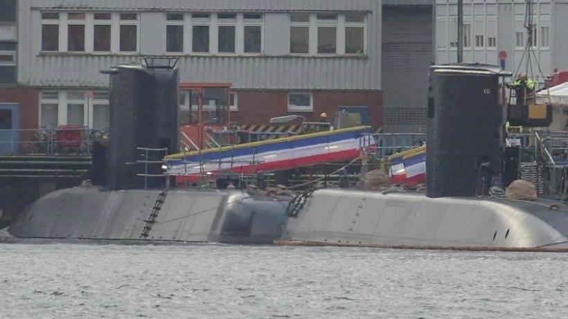 غداً ... رفع العلم المصري علي الغواصة Type 209/1400  وإعلان انضمامها للقوات البحرية المصرية  31484803941_415070a934_b