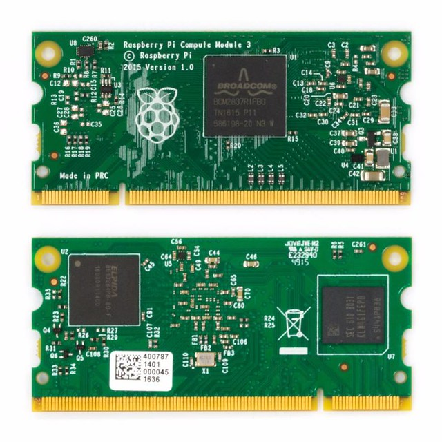 RaspBerry lance un Compute Module 3  32346747125_ebbdfa23f1_z