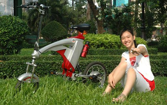 Xe đạp điện Flamingo - Hồng hạc lướt phố 1433964730_8efabb5f83_o