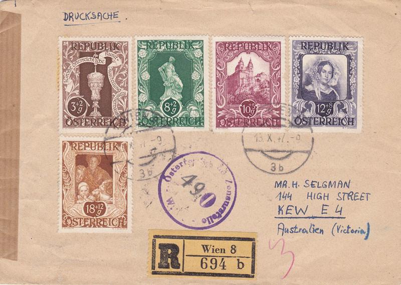 Zensurierte Bedarfspost nach Australien 4689627639_4ea3452597_b