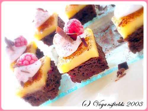 Rasperry Brownies & Lemon Curd Jello Squares (VGL) 2475990213_36419eb264_o