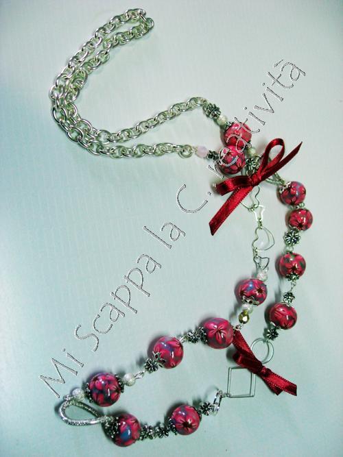 Collana Pink Flower 4507331630_e7c27effcc_o