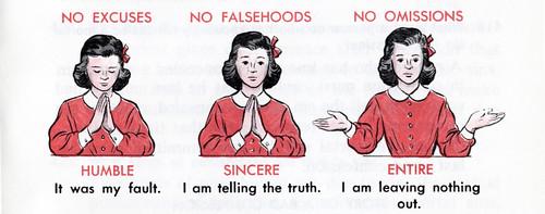 No Excuses - No Falsehoods - No Omissions
