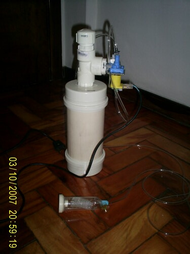 Sistema caseiro de CO² feito de PVC 2192141151_b32cd1e165