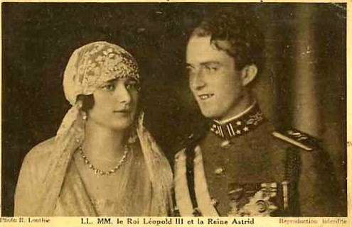 King Leopold III (1901-1983), Queen Astrid (1905-1935) and Princess Lilian (1916-2002) 2151098187_3d92d456e5