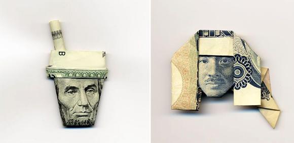 Nghệ thuật gấp tiền giấy! và cách gấp :X  2110496105_5617a9ae23_o