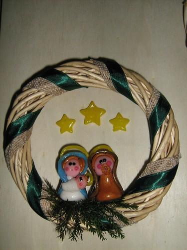 Aria di Natale a casa mia: ghirlandine per la porta 2133557520_1e0610e713