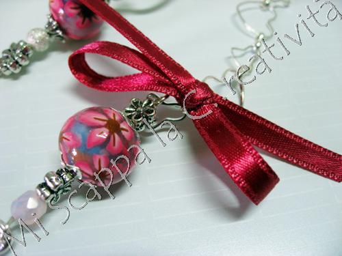 Collana Pink Flower 4507331762_99e72efc0f_o