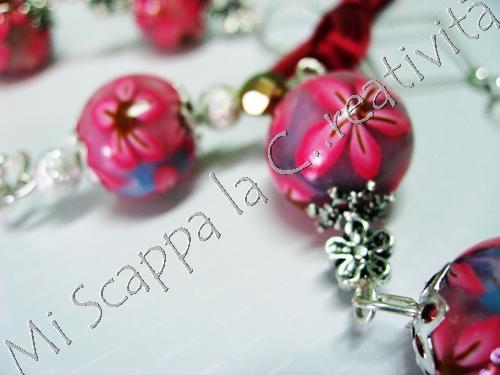 Collana Pink Flower 4506694069_60cdb1988a_o