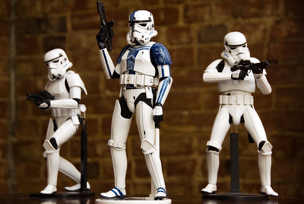 12 inch Stromtrooper Commander Force Unleashed 3657558383_280338d09c_b