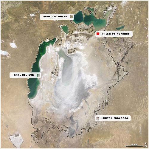 Catástrofe ambiental en el mar de Aral. 3552520814_005e2c76a0