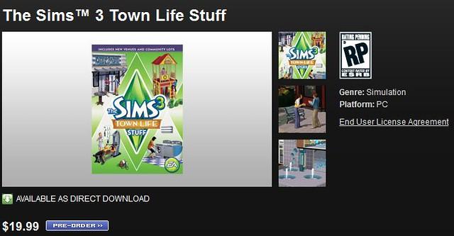 Les Sims™ 3 : Vie Citadine Kit 5839277947_54cde24018_z