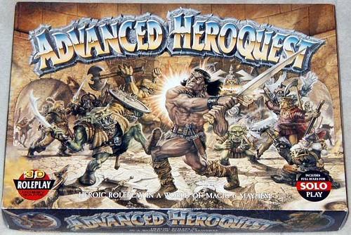 ADVANCED HEROQUEST (JUEGO DE MINIS) 3964898617_384c2ec2cd