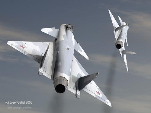 MiG 1.44 MFI [Revell 1/72 - MAJ au 19/08/12] Voilaaaaaaa c'est fini ! 3781706372_150968ddc4