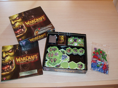 WARCRAFT The Board Game (JUEGO DE TABLERO) 3916690660_b4a8433612