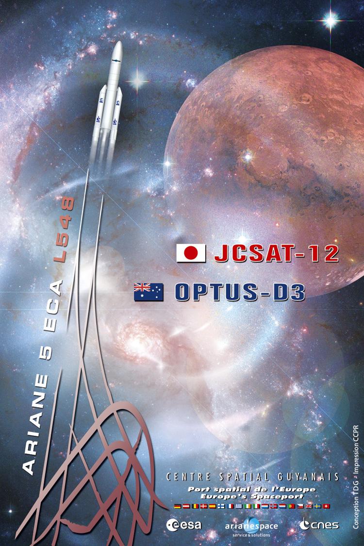 Ariane 5 ECA V190 / JCSat 12 & Optus D3 (21 août 2009, 22h09 GMT) 3812857146_3ecb1df941_o