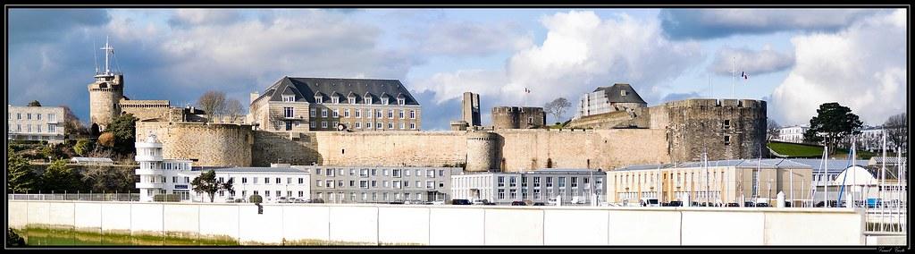 Le château de Brest 4303185767_c9d8d2197f_b