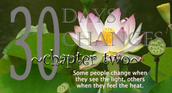Thirty Days Changes--Introduction and Chapter One by Lovelyn 4423035637_afb29af33b_o