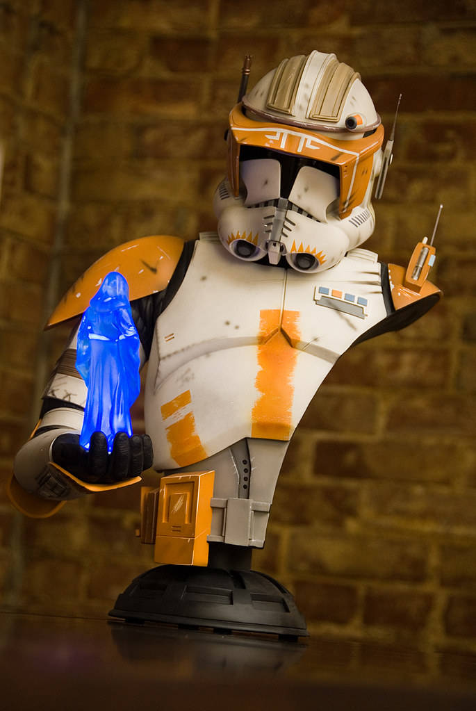 Commander Cody Legendary Scale Bust 1:2 - Page 2 4230634153_5489081a2f_b