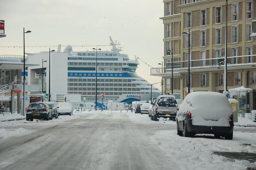 Le Havre sous la neige 4349359668_8a5b48bb75_b