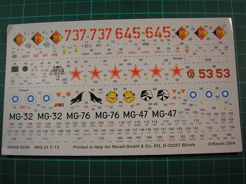 [Concours pinceaux] Mig 21 F-13 Fishbed C [Revell 1/72] 4539026444_c2c9dbde4c