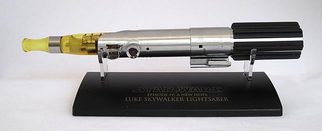Custom Master Replicas .45 Luke ANH Lightsaber e-Cigarette Mod (vaping) (vape) (eCig) (e-cig) 13086281655_cee0071258_z