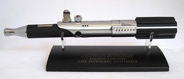 Custom Master Replicas .45 Luke ANH Lightsaber e-Cigarette Mod (vaping) (vape) (eCig) (e-cig) 13086601834_fba71d533e_z