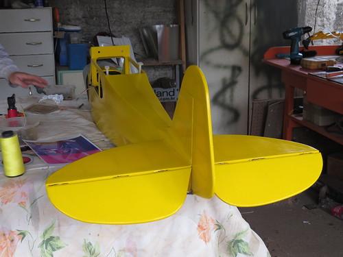 Repaginação de um Piper J-3 para um Neiva P56 C Paulistinha  9477444035_1d18a2cdba