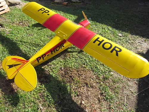 Repaginação de um Piper J-3 para um Neiva P56 C Paulistinha  9489224088_6c217d5301