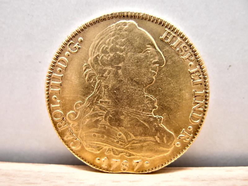 8 Escudos 1787. Carlos III. Potosí 9569650621_792f74734b_c